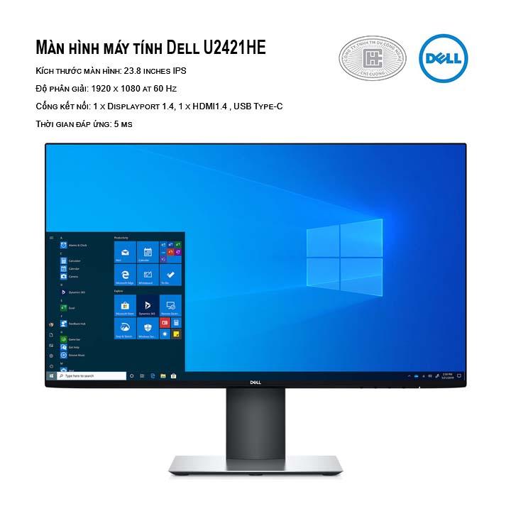Màn hình Dell U2421HE 23.8 inch FHD IPS Type-C Network (RJ-45)