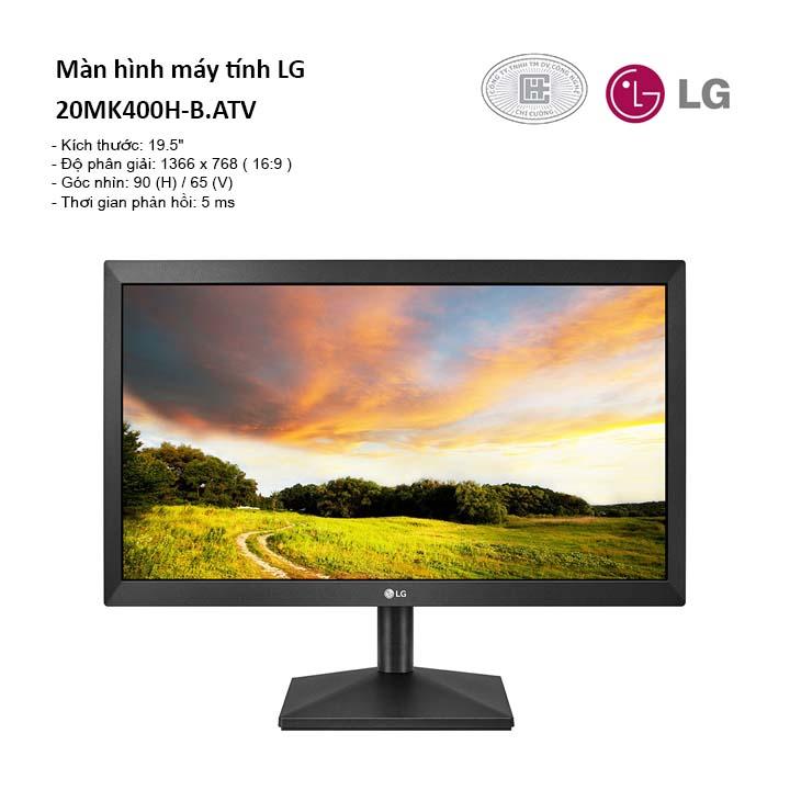 Màn hình LG 20MK400H-B 19.5''