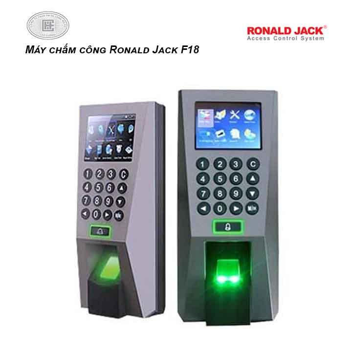 Máy chấm công Ronald Jack F18