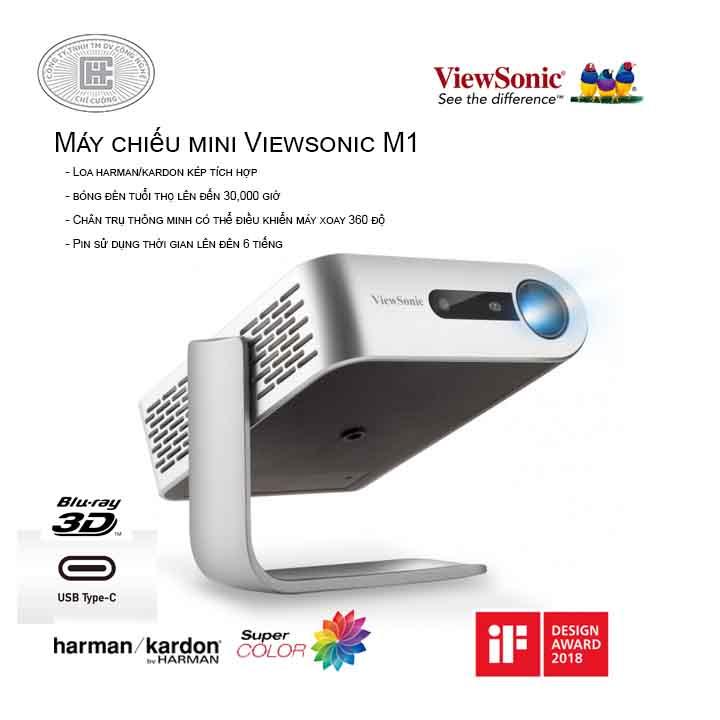 Máy chiếu mini Viewsonic M1