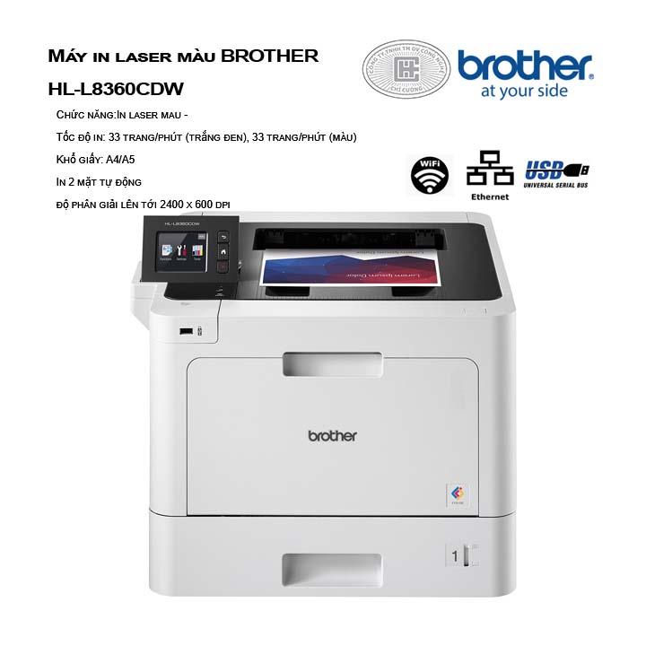 Máy in laser màu BROTHER HL-L8360CDW