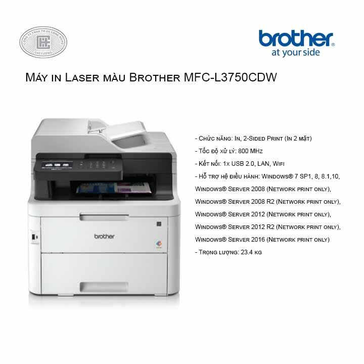 Máy in Laser màu Brother MFC-L3750CDW