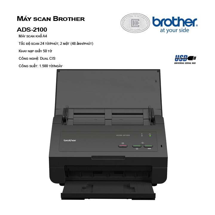 Máy scan Brother ADS-2100