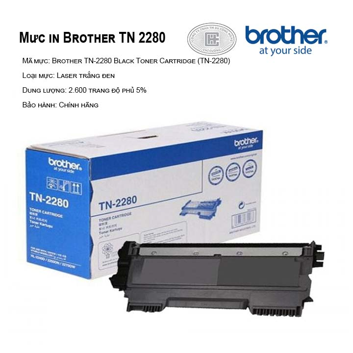 Mực in Brother TN-2280