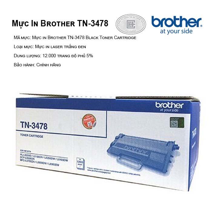 Mực in Brother TN-3478