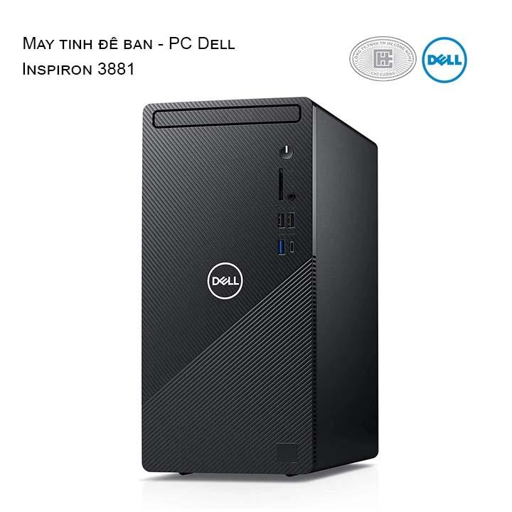 Máy tính để bàn Dell Inspiron 3881  i5 10400 MTI52103W-8G-512G