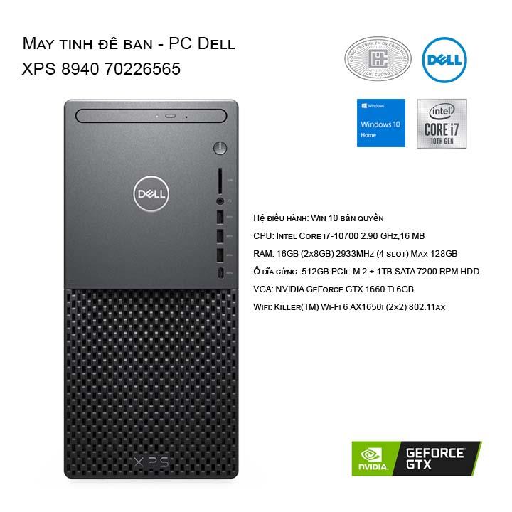 Máy tính để bàn - PC Dell XPS 8940 70226565