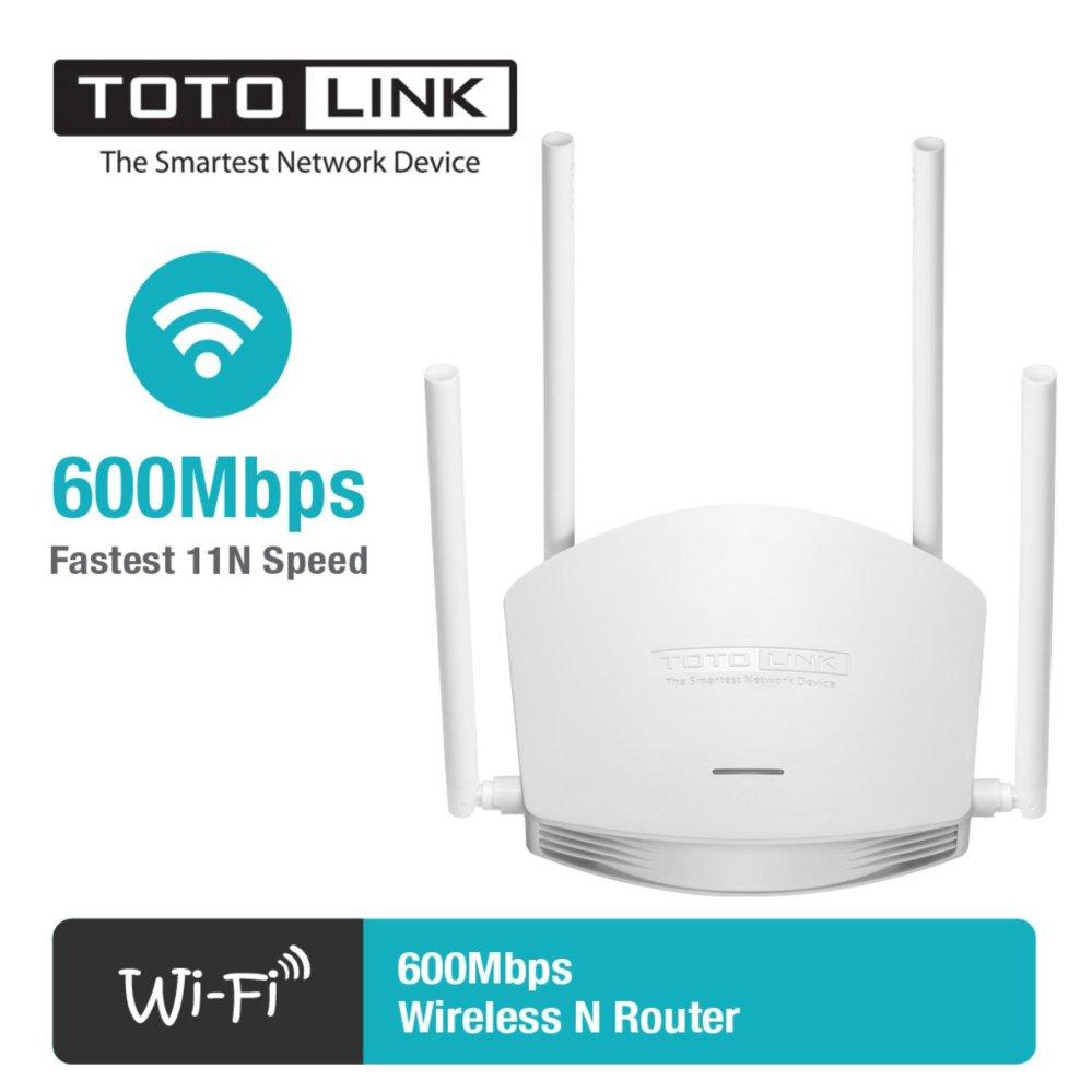 Bộ phát wifi TotoLink N600R - 4 anten