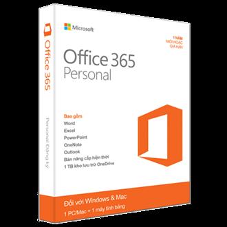 Office 365 Personal - 32bit/x64 English Subscr 1YR APAC EM
