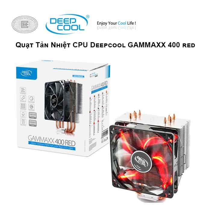Tản nhiệt khí CPU  DEEPCOOL Gammaxx 400 (RED)