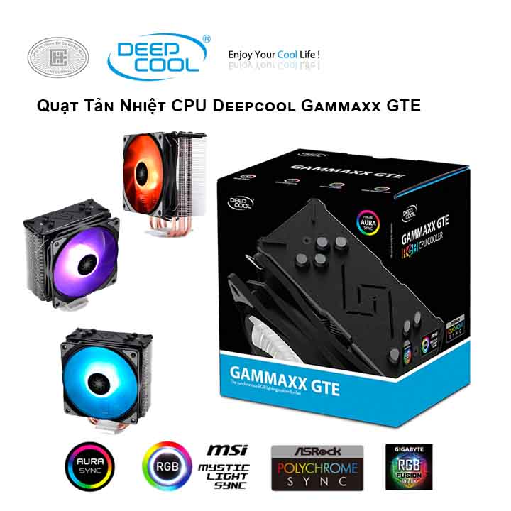 Tản nhiệt khí CPU DEEPCOOL Gammaxx GTE