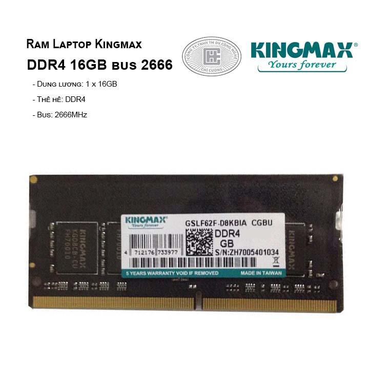 Ram Laptop Kingmax DDR4 16GB bus 2666