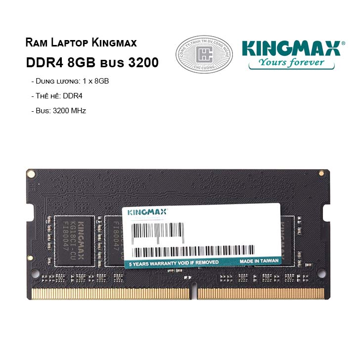 Ram Laptop Kingmax DDR4 8GB bus 3200