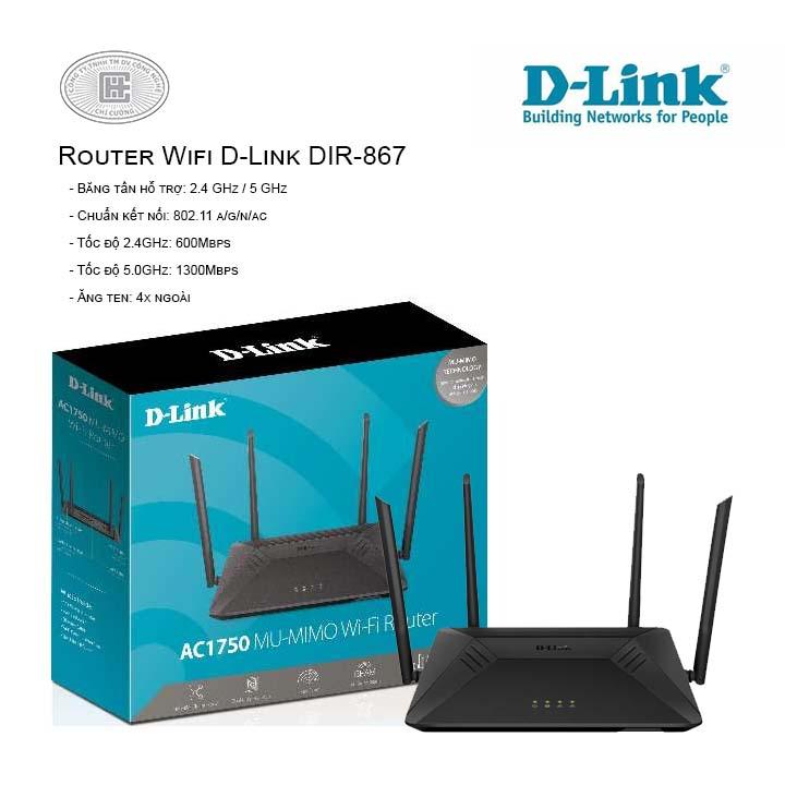 Router Wifi D-Link DIR-867
