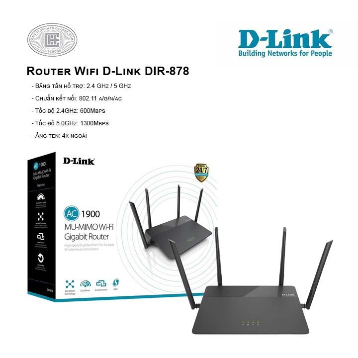 Router Wifi D-Link DIR-878