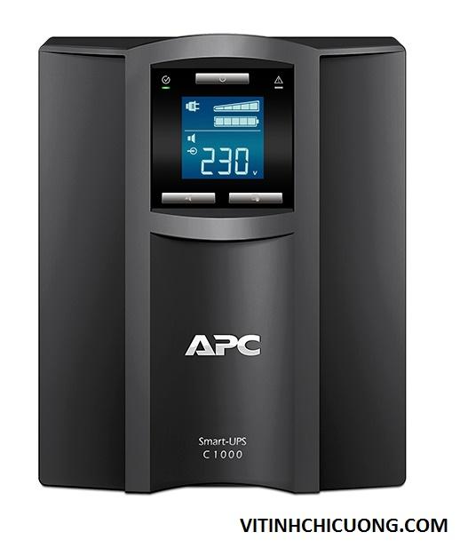BỘ LƯU ĐIỆN APC Smart-UPS C 1000VA LCD 230V - SMC1000I - DÒNG APC SMART-UPS SMC (2 YEAR WARRANTY)