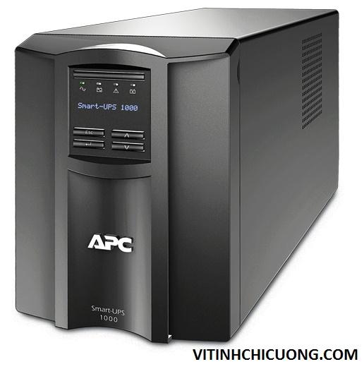 BỘ LƯU ĐIỆN APC Smart-UPS 1000VA LCD 230V - SMT1000I - DÒNG APC SMART-UPS LOẠI TOWER (CHO SERVER)
