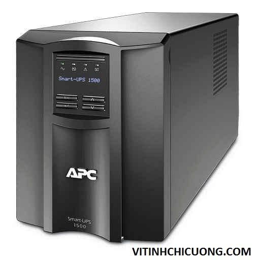 BỘ LƯU ĐIỆN APC Smart-UPS 1500VA LCD 230V - SMT1500I - DÒNG APC SMART-UPS LOẠI TOWER (CHO SERVER)