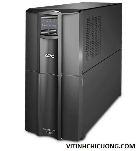 BỘ LƯU ĐIỆN APC Smart-UPS 3000VA LCD 230V - SMT3000I - DÒNG APC SMART-UPS LOẠI TOWER (CHO SERVER)