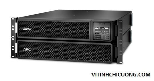 BỘ LƯU ĐIỆN  APC Rackmount Smart-UPS On-Line,1980 Watts /2200VA,Input 230V /Output 230V, Interface Port : RJ-45 Serial, Smart-Slot, USB, Extended runtime model. -  SRT2200RMXLI - DÒNG APC SMART-UPS RT ON-LINE (for servers, voice / data networks, medical labs, and light industrial applications
