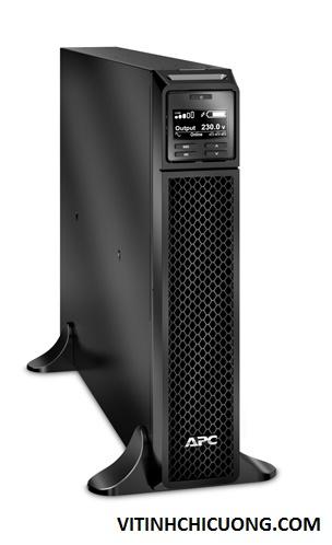 BỘ LƯU ĐIỆN APC Smart-UPS On-Line,1980 Watts /2200VA,Input 230V /Output 230V, Interface Port : RJ-45 Serial, Smart-Slot, USB, Extended runtime model - SRT2200XLI