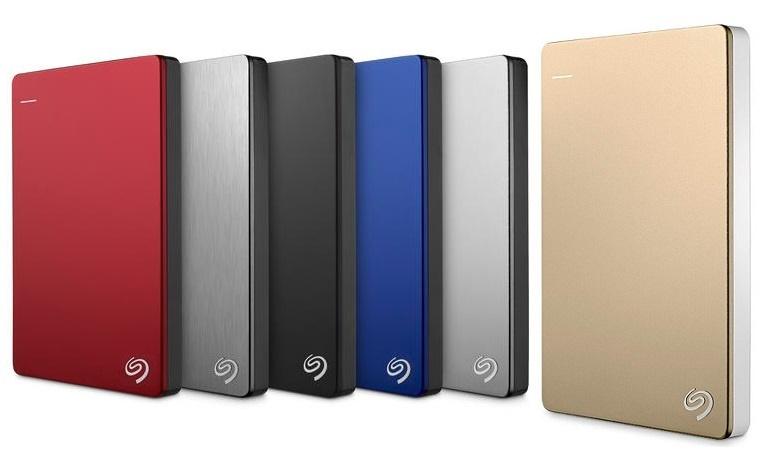 Ổ Cứng Di Động Seagate Backup Plus Slim 1TB USB 3.0 (BLACK, SILVER, GOLD, BLUE, RED)