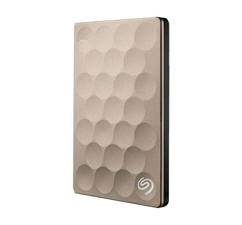 Ổ cứng di động Seagate® Backup Plus Ultra Slim 1TB Gold