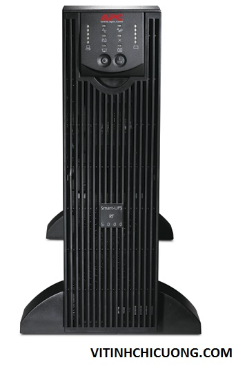 BỘ LƯU ĐIỆN APC Smart-UPS RT 5000VA 230V - SURTD5000XLI - DÒNG APC SMART-UPS RT ON-LINE (for servers, voice / data networks, medical labs, and light industrial applications)