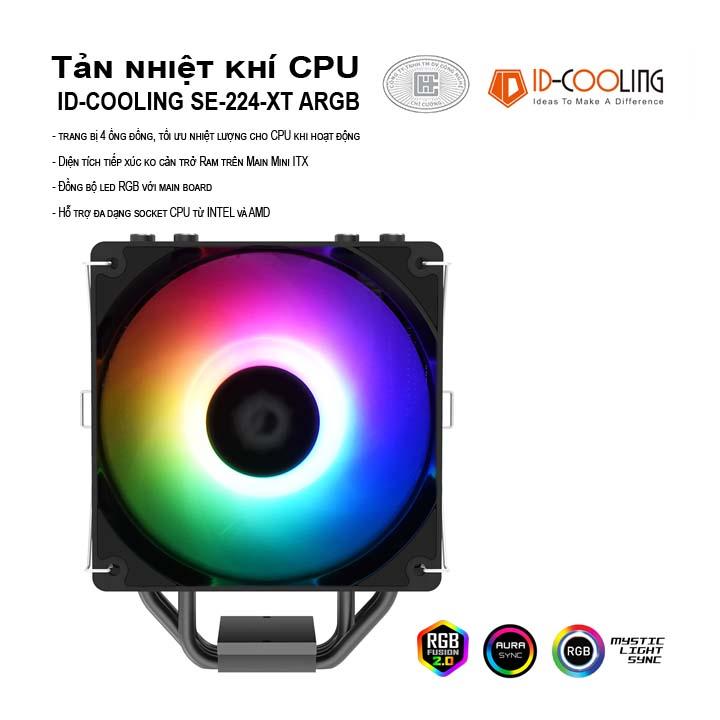 Tản nhiệt khí ID-Cooling CPU SE-224-XT ARGB