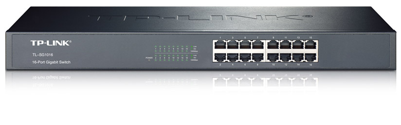 SWITCH TP-LINK -Unmanaged Pure-Gigabit Switch - TL-SG1016