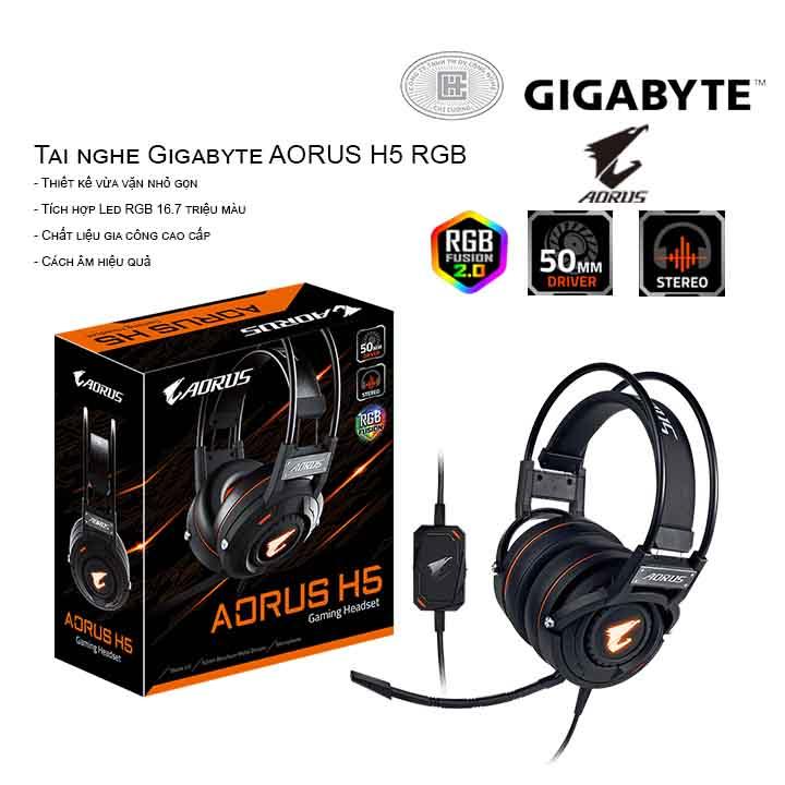 Tai nghe Gigabyte AORUS H5 RGB