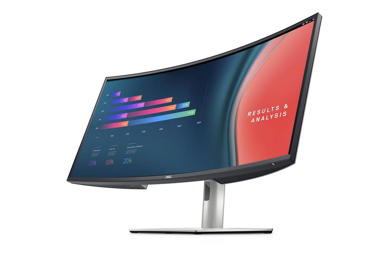Màn Hình Cong Dell UltraSharp U3421WE 34inch/ WQHD/ IPS/ 1.07 tỷ màu/ 0Hz/ SB-C/ Loa 5W