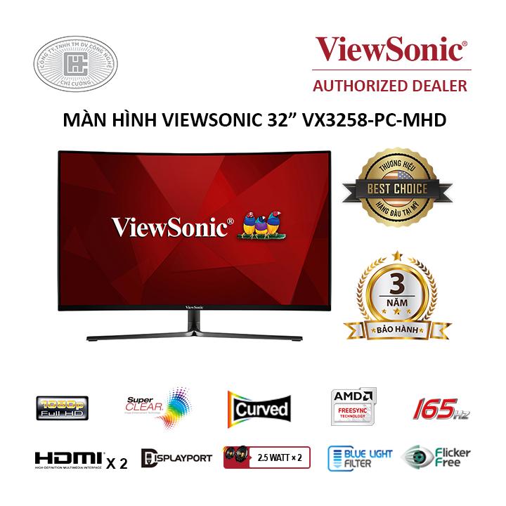 Màn hình cong Viewsonic VX3258-PC-MHD ( 32