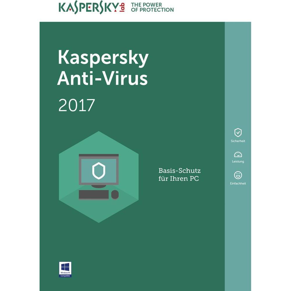 Phần mềm diệt virus kaspersky  anti 1 pc