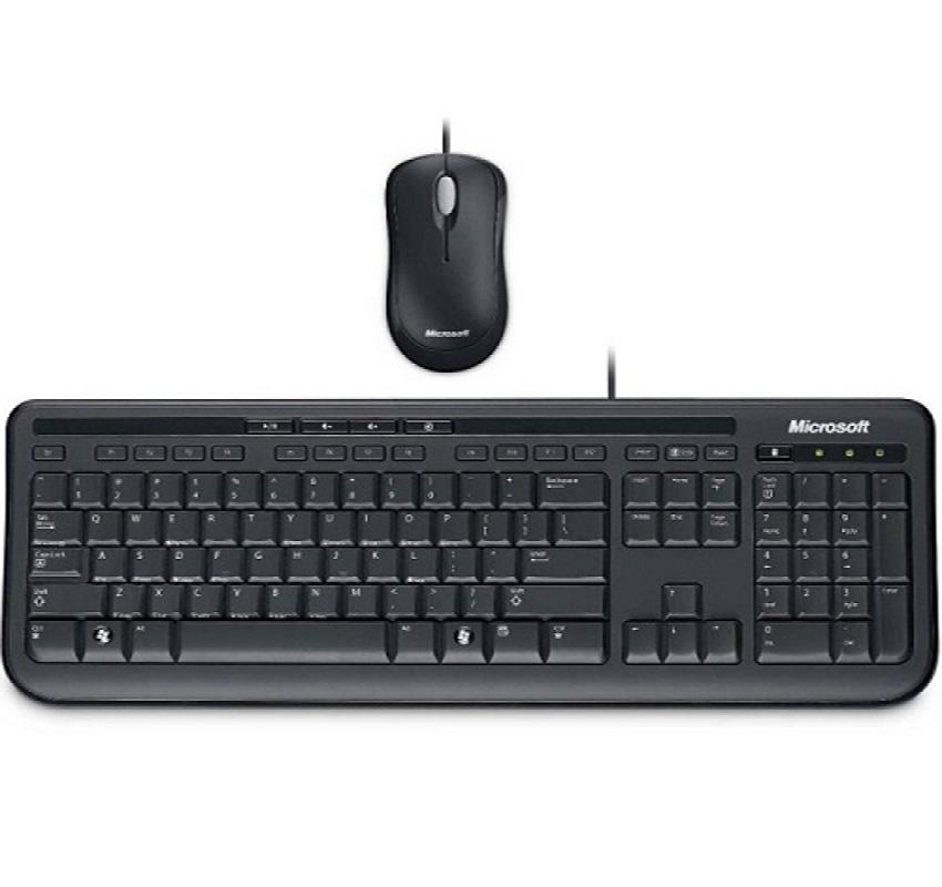 Bộ chuột bàn phím có dây  Microsoft Wired Desktop 600 - APB-00018