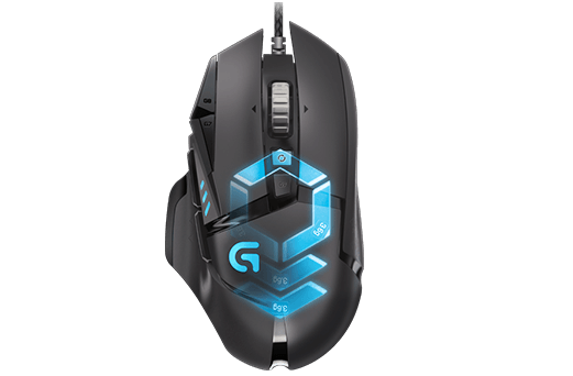 CHUỘT LOGITECH G502 Proteus Spectrum Tunable Gaming Mouse