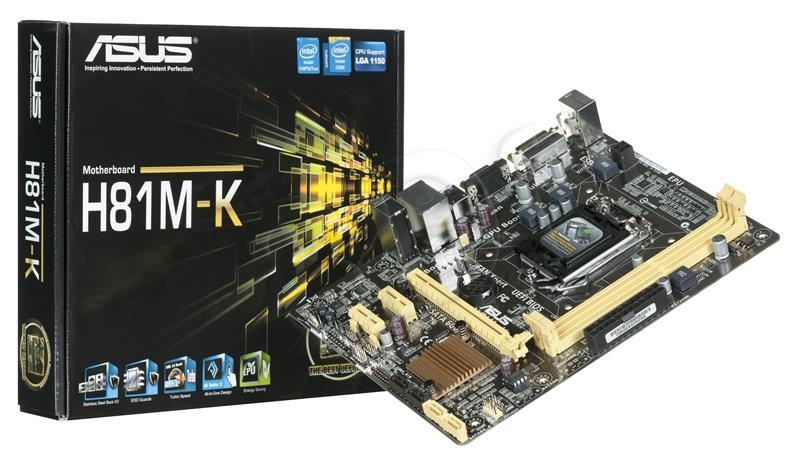 Mainboard Asus H81Mk - Socket LGA1150