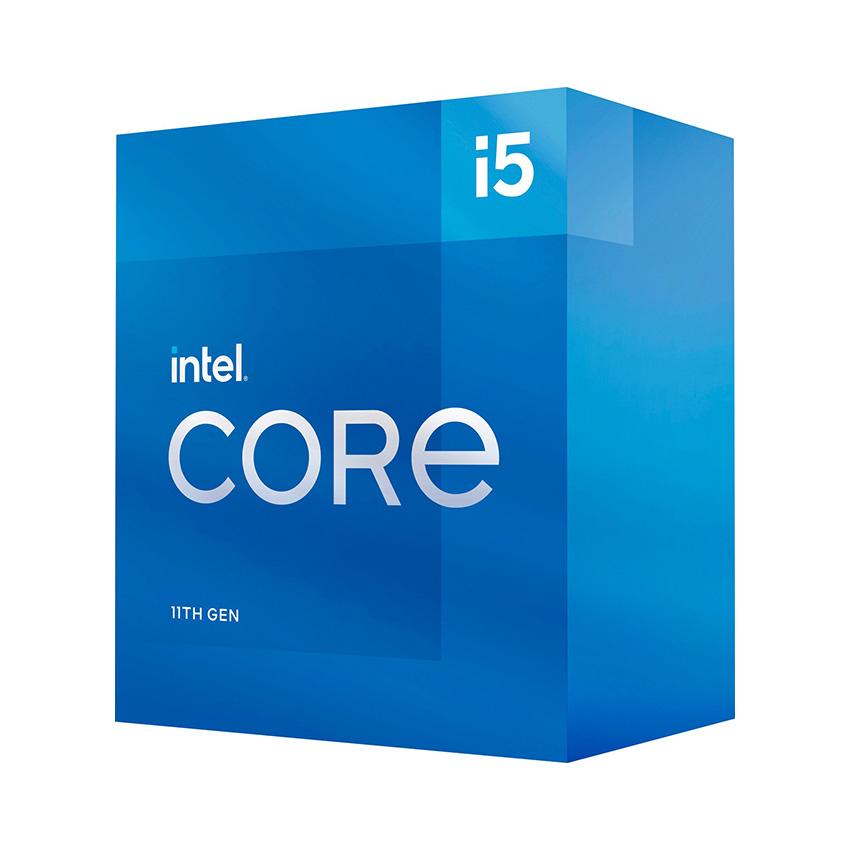 CPU Intel Core i5-11500 (2.7GHz turbo up to 4.4Ghz, 6 nhân 12 luồng, 12MB Cache, 65W) - Socket Intel LGA 1200