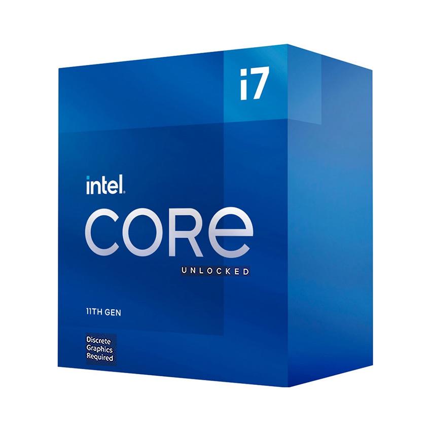 CPU Intel Core i7-11700KF (3.6GHz turbo up to 5Ghz, 8 nhân 16 luồng, 16MB Cache, 125W) - Socket Intel LGA 1200