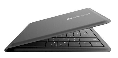Bàn phím vi tính Microsoft Wireless  Universal Foldable Keyboard New!!! - GU5-00017