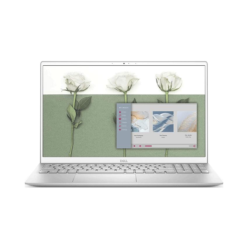Laptop Dell Inspiron N5502A  Core i7 1165G7 8GBRAM/512GB SSD/MX330 2G/15.6 inch FHD/Win10/Bạc