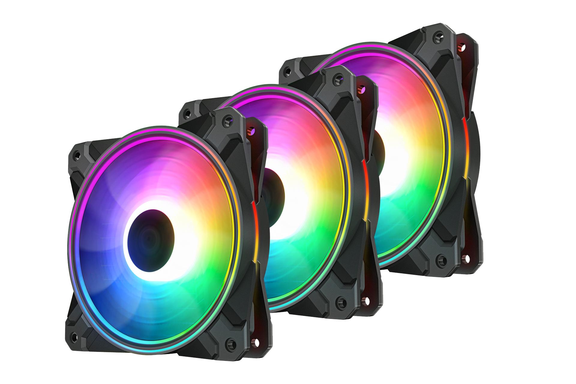 Fan case DEEPCOOL CF120 PLUS RGB 3 FAN