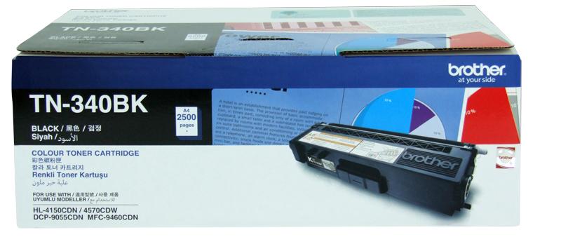 Mực in Brother TN-340BK màu đen dùng cho MFC-9970CDW