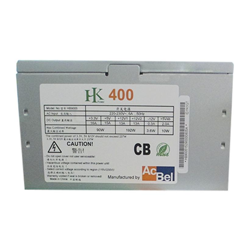 Nguồn máy tính ACBEL HK 400N 400W(NEW)- có dây nguồn phụ cho VGA