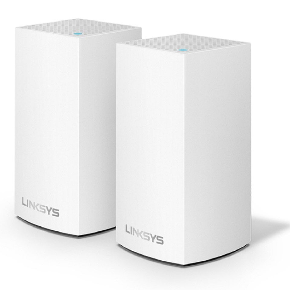 ROUTER WIFI LINKSYS VELOP MX10600-AH TRI-BAND AX5300 INTELLIGENT MESH WIFI SYSTEM WIFI 6 MU-MIMO SYSTEM 2-PACK