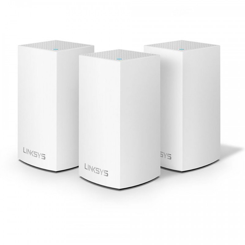 Router Wifi LINKSYS VELOP HW0103-AH DUAL-BAND AC3900 INTELLIGENT MESH WIFI SYSTEM WIFI 5 MU-MIMO SYSTEM 3-PK