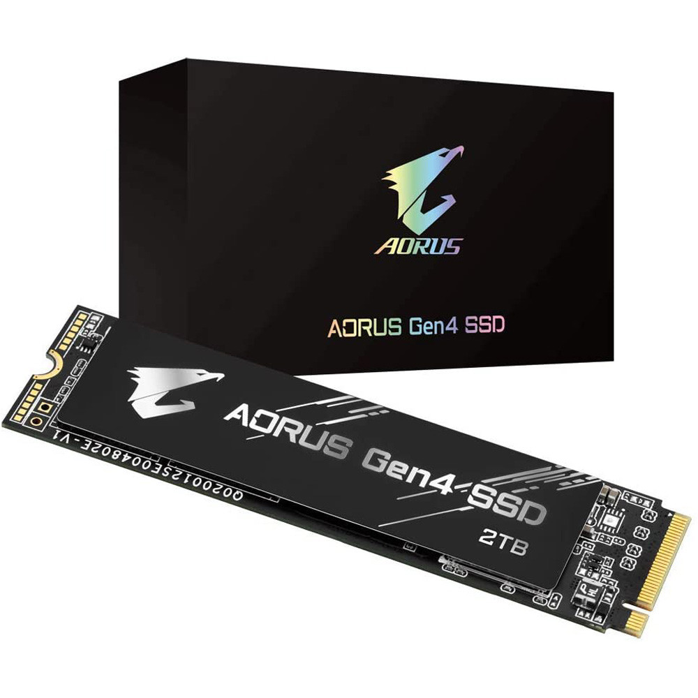 SSD Gigabyte Aorus 2TB PCIe Gen4 x4 NVMe M.2 GP-AG42TB