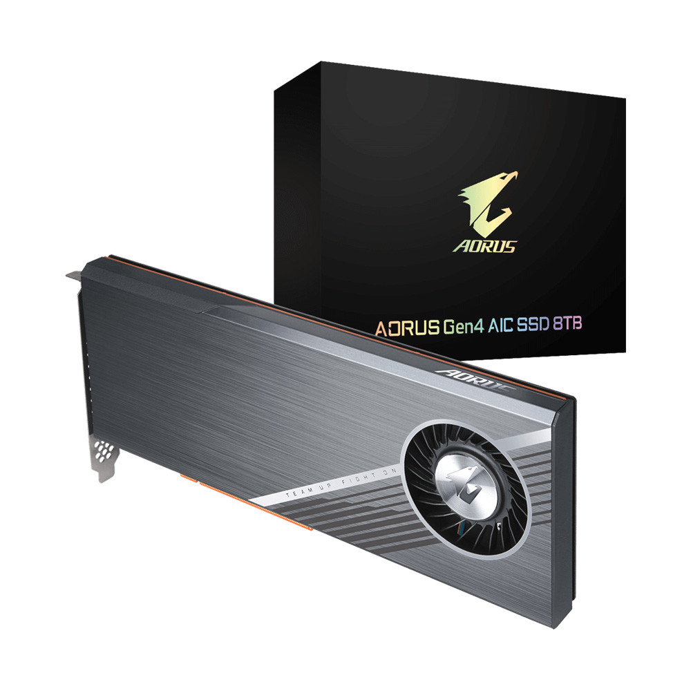 SSD Gigabyte Aorus 8TB AIC PCI-Express 4.0 x16 NVMe GP-ASACNE6800TTTDA