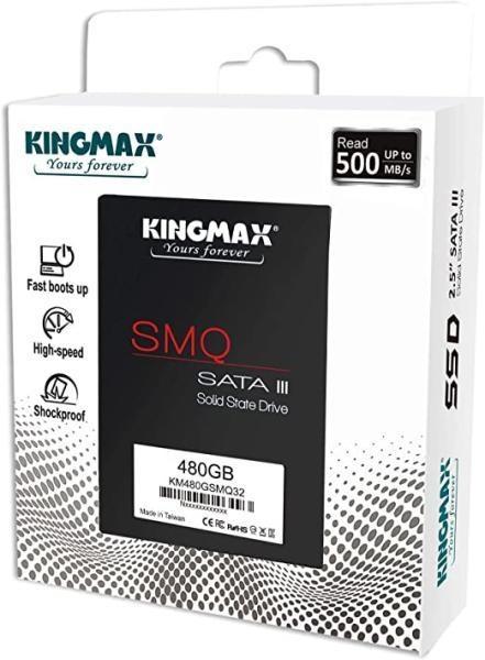 SSD Kingmax 480GB SATA 3 3D QLC - SMQ32