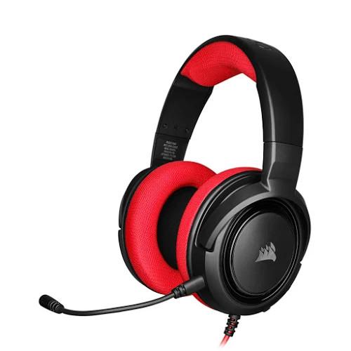Tai nghe Corsair HS35 Stereo Red - CA-9011198-AP